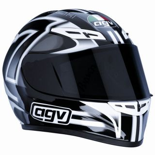 AGV GP Tech Seven Black/White/Black   Achat / Vente CASQUE AGV GP Tech