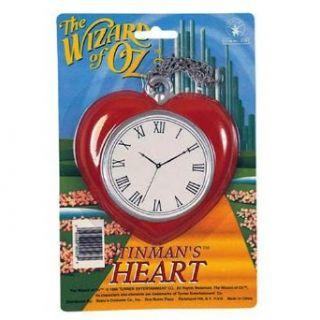 Tin Man Heart Clock   Wizard of Oz Clothing