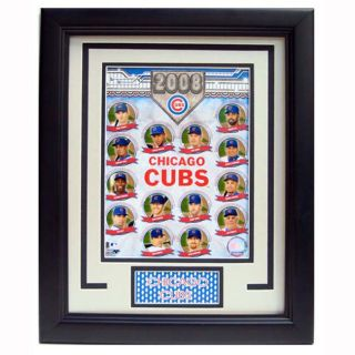 2008 Chicago Cubs Team 11 x 14 Deluxe Frame