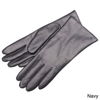 Portolano Womens Leather Gloves with Cashmere Lining