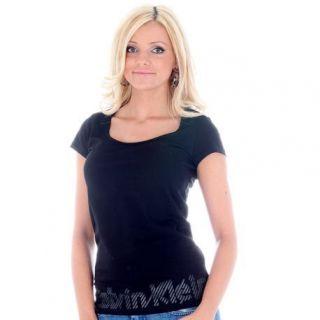 Tee Shirt Calvin Klein CWP29I Noir   Achat / Vente T SHIRT Tee Shirt
