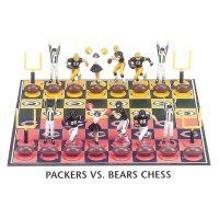 Green Bay Packers Vs. Chicago Bears NFL Football Chess