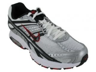 AIR MAX FIERCE RUNNING SHOES 8.5 (WHITE/BLACK MET SILVER RED) Shoes