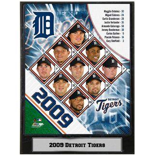 2009 Detroit Tigers 9x12 inch Photo Plaque