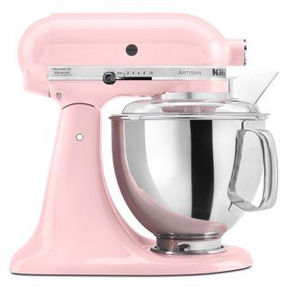 KitchenAid KSM150PSPK Pink 5 quart Artisan Tilt Head Stand Mixer