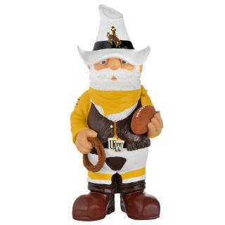 Wyoming Cowboys 11 inch Thematic Garden Gnome
