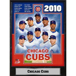 2010 Chicago Cubs Photograph Plaque