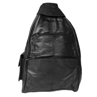 Adi Designs Genuine 16 inch Leather Backpack