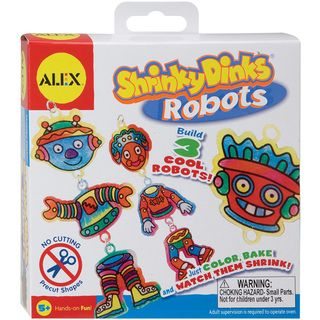 Shrinky Dink Activity Kits Robots
