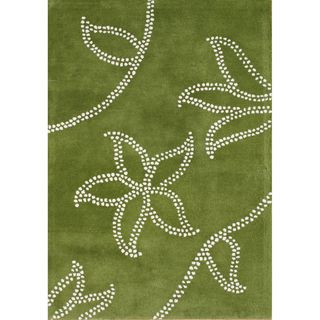 Alliyah Rugs Green New Zealand Wool Rug (9x12)