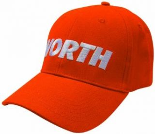 Worth Wfxcp Stretch Fit Hat (Burnt Orange, One Size Fits