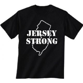 JERSEY STRONG Short Sleeve T Shirt in black   XX Large