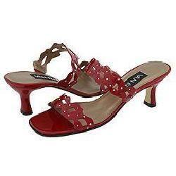 Vaneli Merian Red Blazon Patent Sandals