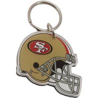 NFL San Francisco 49ers High Definition Helmet Keychain