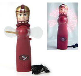 San Francisco 49ers Light Up Personal Handheld Fan Sports