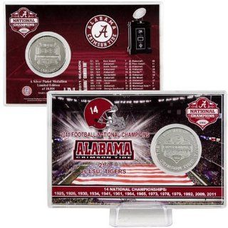 Alabama Crimson Tide 2011 BCS National Champions Silver