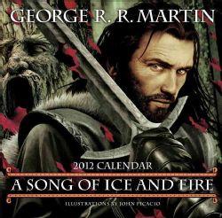Song of Ice and Fire 2012 Calendar (Calendar)