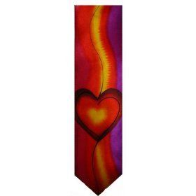 Mens J. Jerry Garcia Neck Tie Red Room Collection Forty