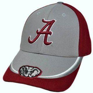 NCAA Alabama Crimson Tide Maroon Red Gray Baseball Hat Cap