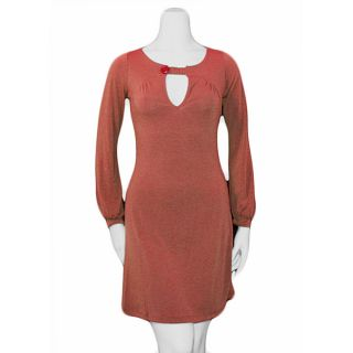 Soho 20 Juniors Orange Long sleeve Dress