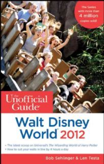 Unofficial Guide Walt Disney World 2012 (Paperback)