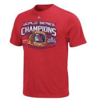 MLB Mens St. Louis Cardinals 2011 World Series Champions