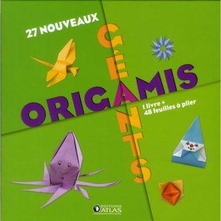 27 nouveaux origamis géants ; coffret   Achat / Vente livre