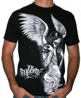 SULLEN Fallen Angel Mens Tattoo Inspired T Shirt Size XXL
