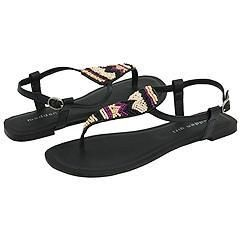 Madden Girl Bajjaa Black Multi Sandals