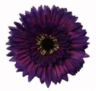 Girls New Large Purple Layered Natural Daisy Flower Hair