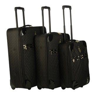 Baby Phat Madison 3 piece Luggage Set