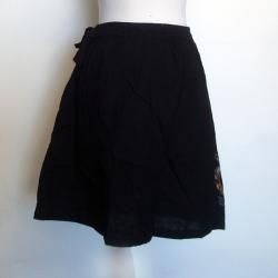 Womens Cotton Solid Color Skirt (Nepal)
