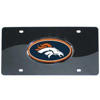 NFL Denver Broncos Acrylic License Plate Sports