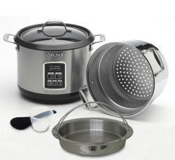 Aroma Forte Stainless Steel Rice and Pasta Cooker