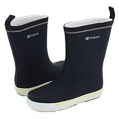 Tretorn Kids Jolly (Toddler/Youth) Navy/Yellow Boots