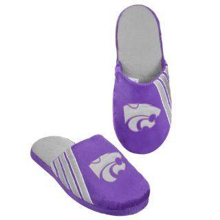 NCAA 2012 College Football Team Big Logo Stripe Slippers