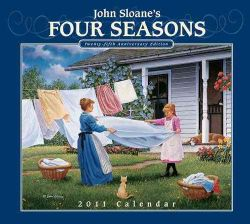 John Sloan Four Seasons 2011 Calendar