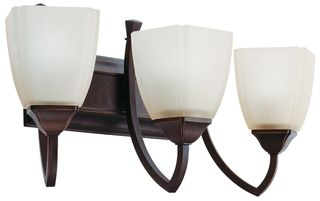 Lithonia Lighting Piedmont 3 light Antique Bronze Wall Sconce