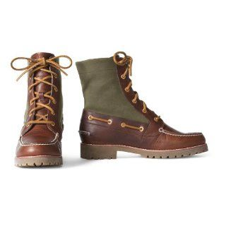 Sperry Avon Boots, Olive 10M Shoes