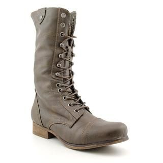 Madden Girl Womens Geirard Faux Leather Boots