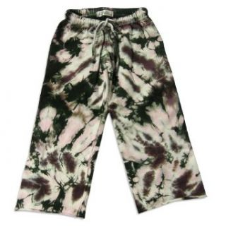 So Nikki   Girls Tie Dye Sweatpant, Hunter Green, Purple
