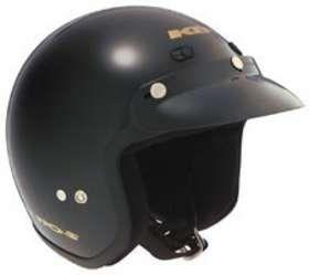 KBC TK 110 BLACK 3XL MOTORCYCLE Open Face Helmet Clothing