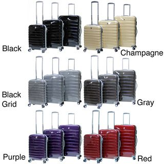 CalPak Atlantis 3 piece Hardside Spinner Luggage Set