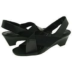 Franco Sarto Raleigh Black Gaucho Sandals