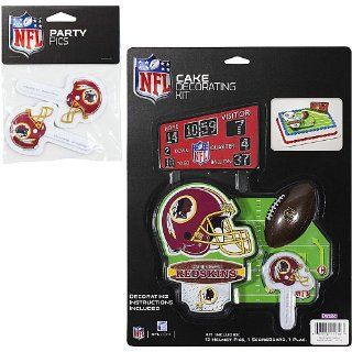 NFL Washington Redskins Lay on Cake/Cupcake Decorations
