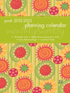 Circles Monthly & Weekly Planner 2012 2013 Calendar