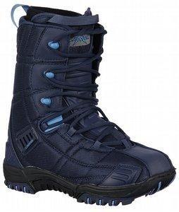 Lamar Matrix Womens Blue Snowboard Boots