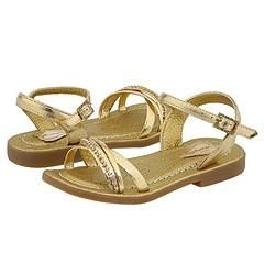 Pampili 185.038 (Infant/Toddler) Gold Metallic Sandals