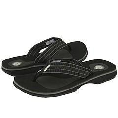 Rafters Tsunami Black Sandals
