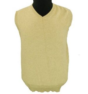 Tasso Elba Sweater Vest Raffia Heather Combo Small